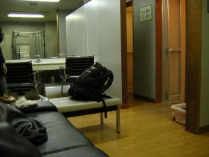 松江宍道ふるさと森林公園のシャワー施設