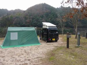 テントとKONG