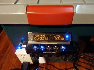 自作電源の電圧モニター