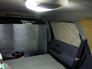 オデッセイRA1の車中泊スペース