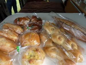 「杜のパン屋」で購入したパンたち