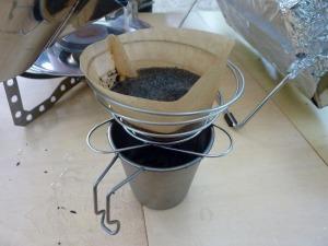 コーヒーバネットでドリップ