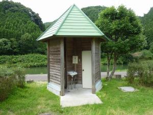 芝生広場のトイレ