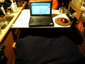 KONGホテルでネットサーフィン