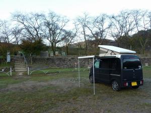 笠置キャンプ場とKONG