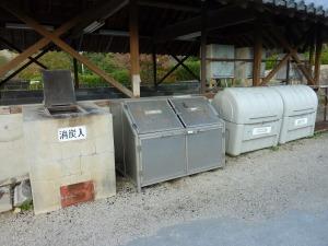 分別ゴミ収集場所