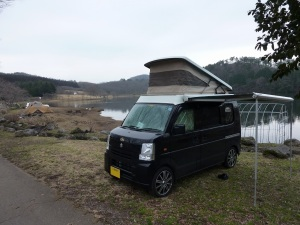 志高湖キャンプ場のKONG 1