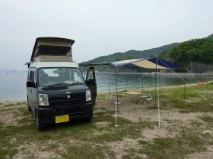 絵浜キャンプ場とKONG 1