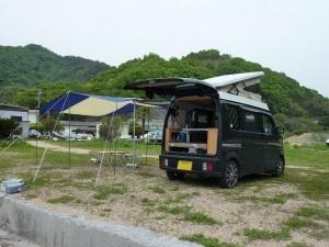 絵浜キャンプ場とKONG 2