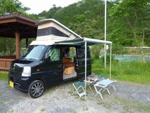 三堰キャンプ場のKONG