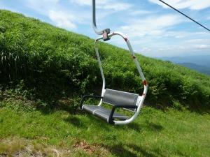桝水高原のカップルシート