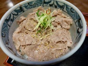 松阪牛ミニ牛丼_20120915
