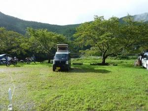渡瀬緑の広場キャンプ場のKONG