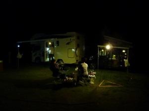 ご一緒キャンプ風景