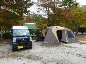 岩倉ファームパークキャンプ場とKONG_20121103