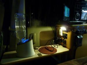加湿器を稼働させたKONG_20121201