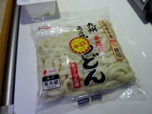 九州産小麦100%うどん(Aコープ)