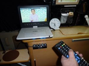 フルセグ化したKONGのTV