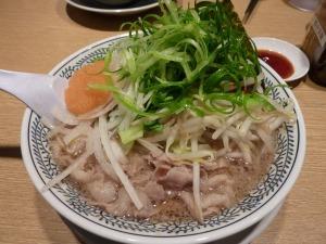 丸源の肉そば_20130301