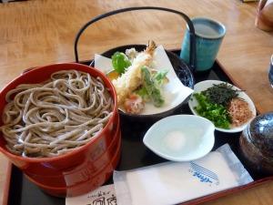 一風庵の天ぷら割子そば_20130525