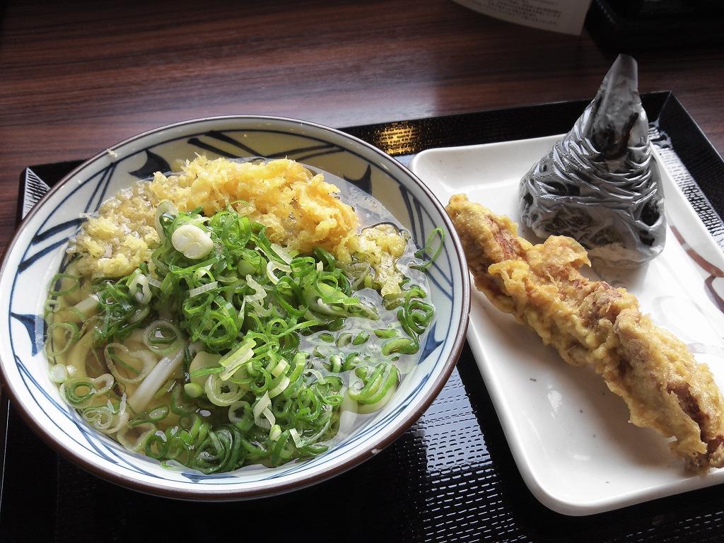 丸亀製麺で昼食_20131004