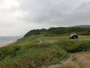 広いキャンプ場に佇むKONG_20130915