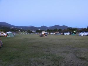 キャンプ場の真ん中にKONGがポツリ_20131012