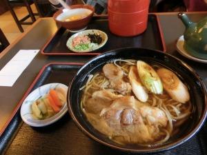 神代そばで昼食_20131207