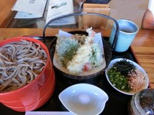 純そば一風庵の天ぷら割子そば1190円_20131208