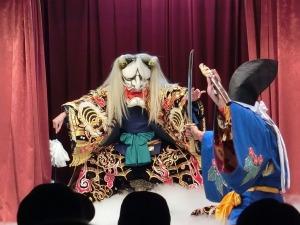 横田神楽団の葛城山_20140222