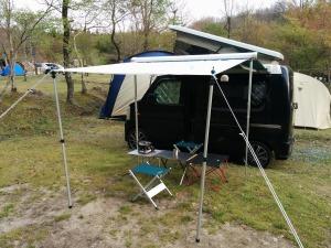 車中泊キャンプの準備OK_20140426