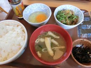 牛小鉢たまごかけごはん朝食_20140712