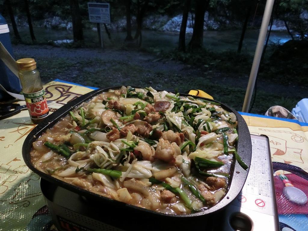 味付けは味噌味の焼肉のタレで_20140712