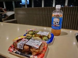 フェーリーで夕食。惣菜_20140718