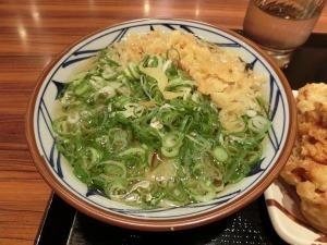 丸亀製麺のかけうどん_20140907