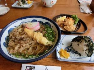 道の駅おふくで昼食_20140922