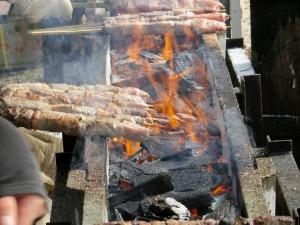 山田牧場「肉の串焼き」_20141025
