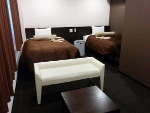 ホテルのツインルーム_20141228