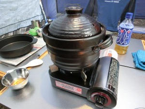 土鍋で炊飯_20150322
