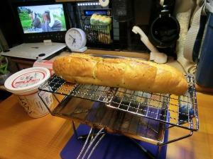 マルチロースターでパンを焼く_20150329