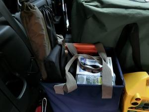 BOX一個分のキャンプ道具_20150523
