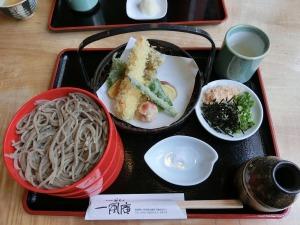 天ぷら割子そば_20150704