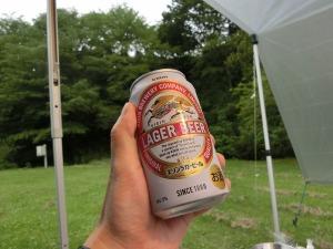 ビールはキリンラガー_20150704