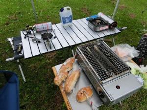 キャンプの食卓_20150705
