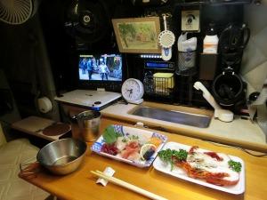 軽キャンで夕食_20150918