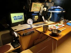 軽キャンで夕食_2_20150918