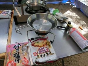 どん兵衛で天ぷらそばを作る_20151025