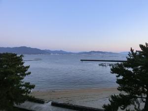 窓から見えた朝の風景_20151220