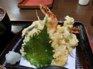 清盛定食の天ぷら_20151220