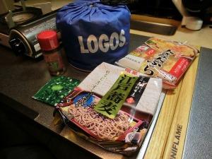 LOGOSクッカーで江戸蕎麦_20160125